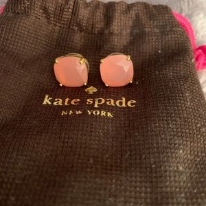 Kate Spade Pale Pink Studs